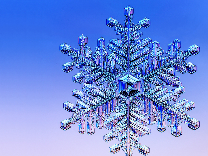 Flocon neige physique de tous les jours - Gabarit flocon de neige a decouper ...