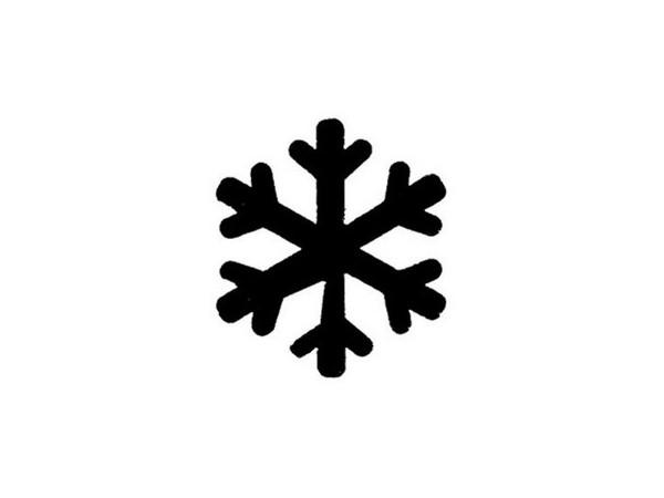 Flocon stylis physique de tous les jours - Gabarit flocon de neige a decouper ...